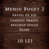 Meniu Budget 2
